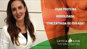 Embedded thumbnail for Proteína Hidrolisada, Concentrada ou Isolada?